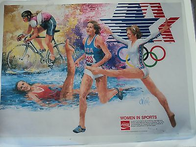 Coca Cola 1984 Olympics Posters (4 different ones)