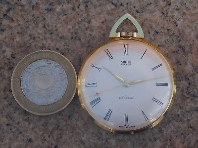 Vintage Smiths Art Deco Pocket Watch in GWO