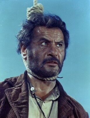 ORIGINAL United Artists 4x5 NEGATIVE GOOD THE BAD AND THE UGLY Eli Wallach