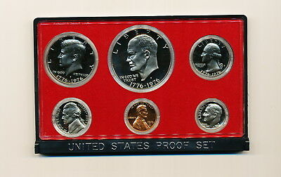 1975 Us Mint  Proof Set *free Ship*