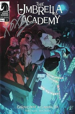 Umbrella Academy Hotel Oblivion #1 Matteo Scalera Variant SIGNED by Gerard Way!