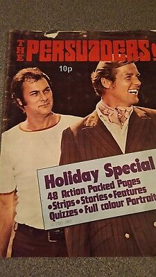 TV ACTION + COUNTDOWN Holiday Special 1972. DOCTOR WHO, UFO, THE PERSUADERS etc.