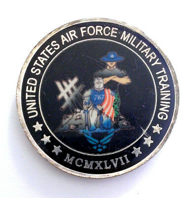Air Force 767th Military Training Squadron Challenge Coin