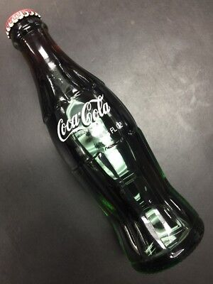 Vintage Coca Cola Glass Bottle Unopened Arabic Writing Pakistan