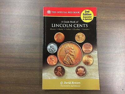 A Guide Book of Lincoln Cents, 2nd Edition (Red Book Series) NEW!!!