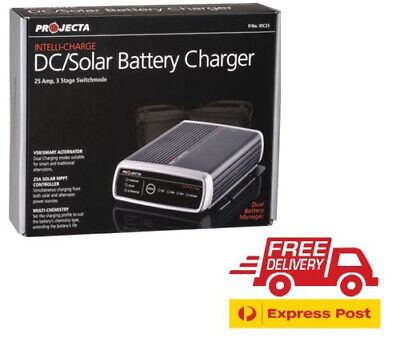 Projecta Idc25 12 Volt Dc To Dc 25A Battery Charger Solar Version 4 Agm Rv Hilux