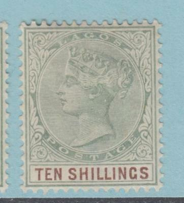 Lagos 38 Mint Hinged  Og * No Faults Extra Fine !