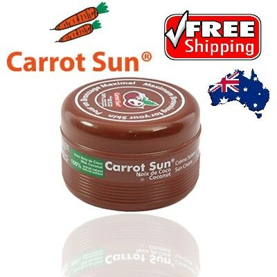 Carrot Sun Product Tanning Accelerator Cream 350mlCOCONUT -FREE DELIVERY AUS