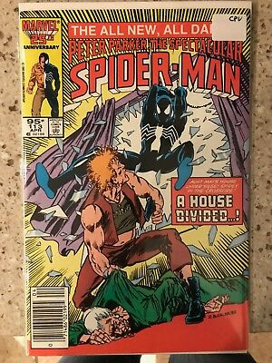 SPECTACULAR SPIDER-MAN #113 NM 1st Print CANADIAN PRICE VARIANT Newsstand