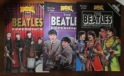 BEATLES EXPERIENCE # 1-3 REVOLUTIONARY 1991 VF-NM LOT of 3 COMICS
