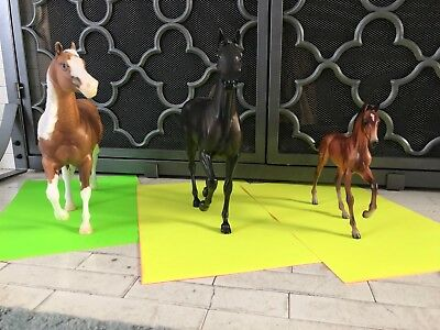 breyer body lot 3 horses traditional 1:9 scale used BODY