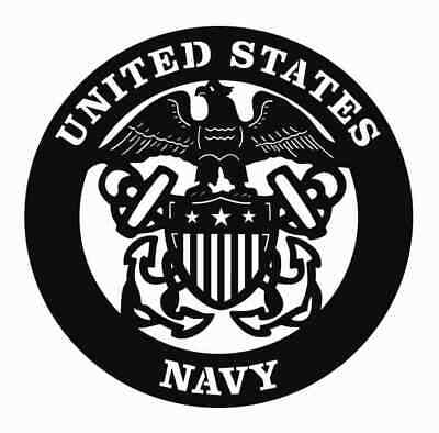 US NAVY - DXF File Ready For Plasma or Laser Cutting