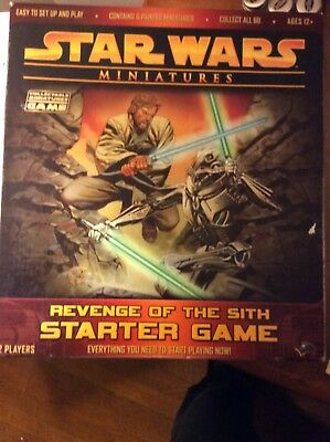 Star Wars Miniatures Revenge of the Sith Starter Game