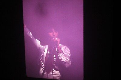 Freddie Mercury Queen In Concert on Stage 35mm slide 1976 Night of Opera Tour 45