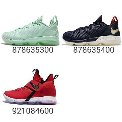 buy popular 541de 4e6dd Nike LeBron XIV Hi / Low EP 14 James Men Basketball Shoes Sneakers Pick 1