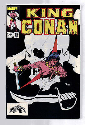 Conan the King #19 and #20, Marvel, 1984, VF condition, Robert E Howard