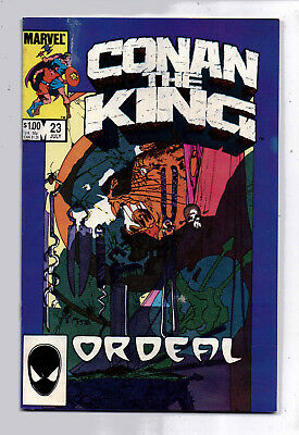 Conan the King #23 and #24, Marvel, 1984, VF condition, Robert E Howard