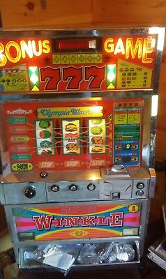 Vintage Full Size Winkle Slot Machine