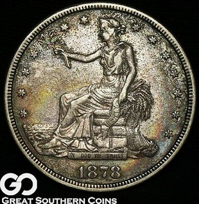 1878-S Trade Dollar, Sought After Silver Dollar Series
