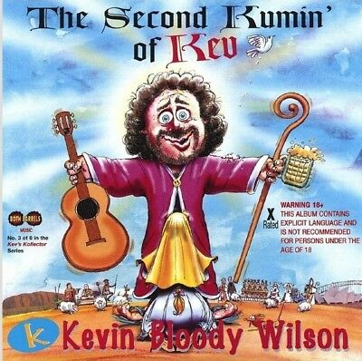 KEVIN BLOODY WILSON - THE SECOND KUMIN OF KEV CD ~ AUSTRALIAN COMEDY 2nd *NEW*