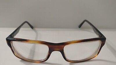137c754a74 Authentic Ray-Ban RB5245-5607 Men s Tortoise Grey Rectangle Eyeglasses Rx  Frame