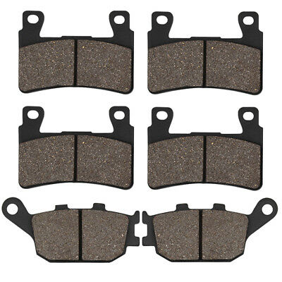 Front And Rear Brake Pads For HONDA CBR 600 F4 Sport 01-06 CBR 600 RR 2003-2004