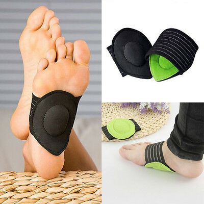 2x Arch Support Foot Heel Pain Relief Plantar Fasciitis Shoes Insole Pads Care