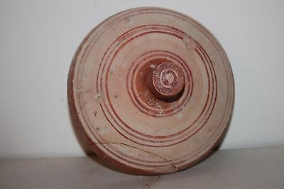 ANCIENT GREEK POTTERY HELLENISTIC POT LID 3rd CENTURY BC