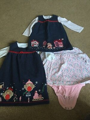 Girls 12-18 Month Christmas/Autumn/Winter Outfit Bundle