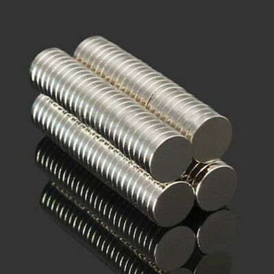 100Pcs N52 10X2mm Super Strong Round Disc  Magnet Rare Earth Neodymium Magnets