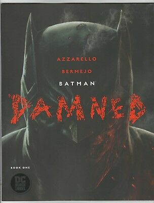 BATMAN DAMNED #1 1st PRINTING COVER A  BY LEE BERMEJO Uncensored NM/M