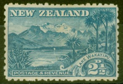 New Zealand 1899 2 1/2d Blue SG260 Fine Mtd Mint