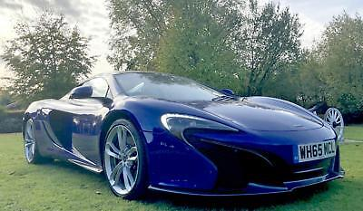 2016 McLaren 650S 3.8 V8 Spider AUTOMATIC SORRY NOW SOLD