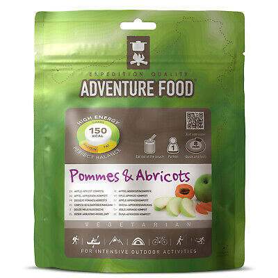 ADVENTURE FOOD Pommes & Abricots Outdoor Mahlzeit Not Verpflegung Nahrung Ration