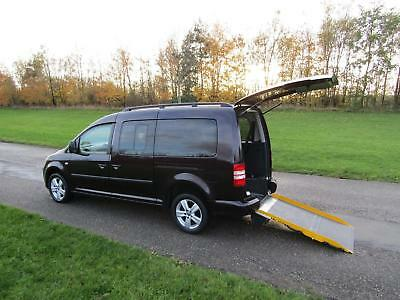 2013 63 Volkswagen Caddy Maxi Life 1.6 Tdi WHEELCHAIR ACCESSIBLE ADAPTED VEHICLE