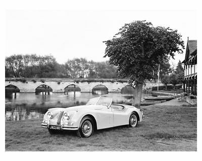 1954 Jaguar XK140 Roadster Automobile Factory Photo ch5322