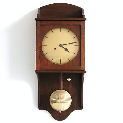 German JUNGHANS Antique Wall CLOCK Museum TOP Quality ALL FULLY RESTORED! 1920s