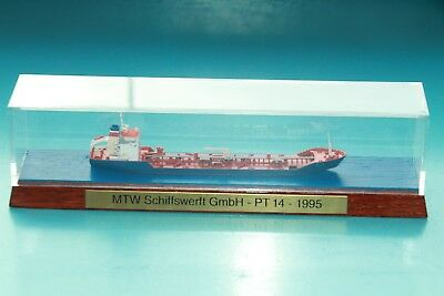 "CO-S 10439 Modell 1:1250 Tanker ""Jian She"" ca. 12cm im Display (PlexiGlas) MTW"