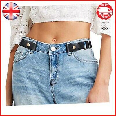 JasGood No Buckle Invisible Elastic Belt for Women/Men/Young/Old - Ladies Waist