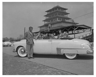 1949 Oldsmobile Pace Car Automobile Factory Photo ch7683