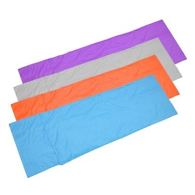 Sleeping Bag Liner Travel Sleep Sack Sheet Hiking Camping Tent Mat Pad UO