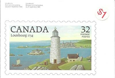 Canada 1984 Issue Stamp Postcard Package