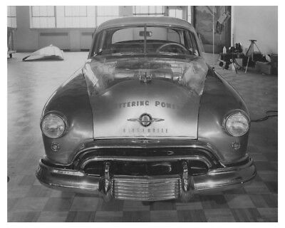 1949 Oldsmobile 98 Plastic Display Hood Automobile Factory Photo ch8055
