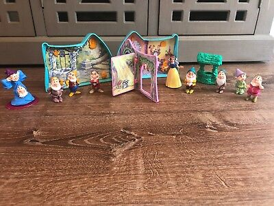 Disney Once Upon A Time Snow White And The Seven Dwarfs Playset