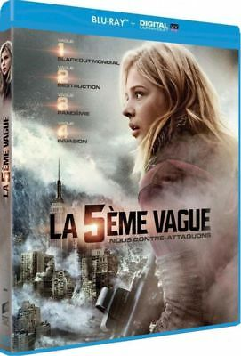 Blu-ray + Digital UV  :  LA 5ème VAGUE  [ Chloë Grace Moretz ]  NEUF cellophané
