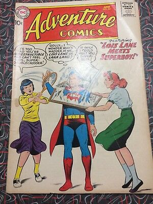 Dc Comics Adventure Comics No 261 1959