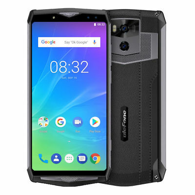 """6.0"""" Android 8.1 Face ID 13000mAh Wireless Charge 4G Smartphone Ulefone Power 5"""