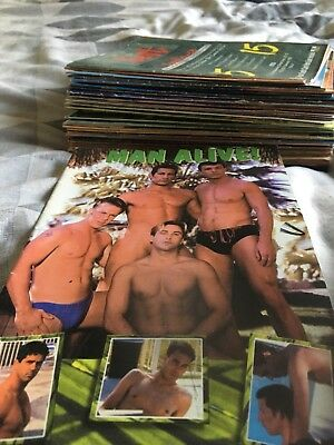 Gay Interest 46 Magizines Most Called Man Alive Retro Vintage