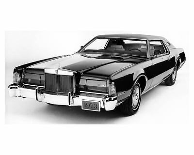 1973 Lincoln Continental Mark IV Factory Photo ub2895-UYOEGQ