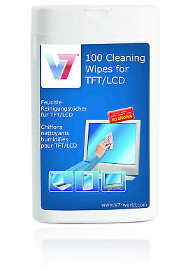 V7 VCL1522 TFT / LCD Cleaning Wipes 100er